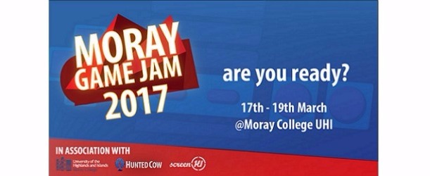 Still Time To Register For Moray Game Jam 2017 Workshops