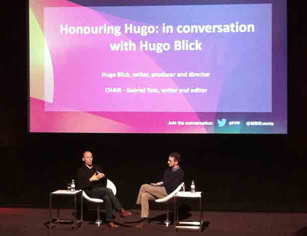 In conversation with Hugo Blick