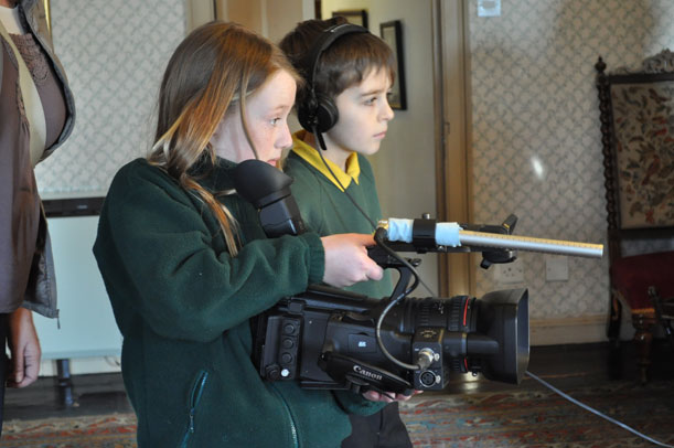 BBC The Victorians at Brodie Castle