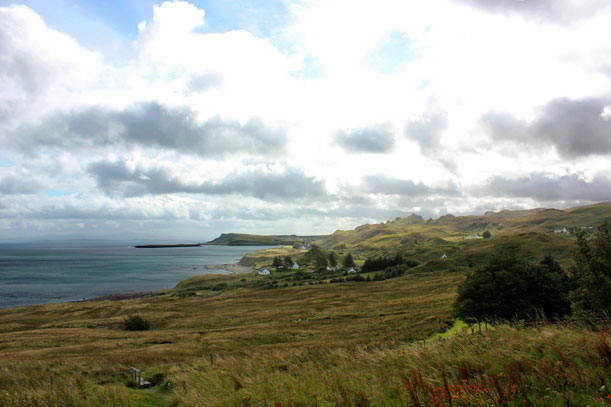 Skye landscape while on location