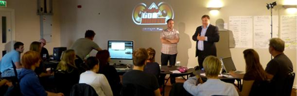 Jeff Zycinksi drops in on Radio goNORTH training